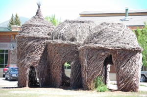 Straw building in Ketchum, ID