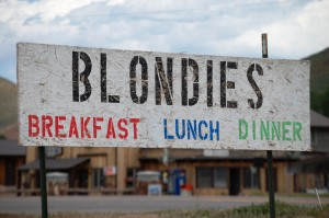Blondie's Cafe - Cokeville, WY