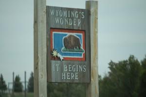 Wyoming's Wonder Sign - Kemmerer, WY