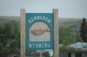 Fish Fossil Sign