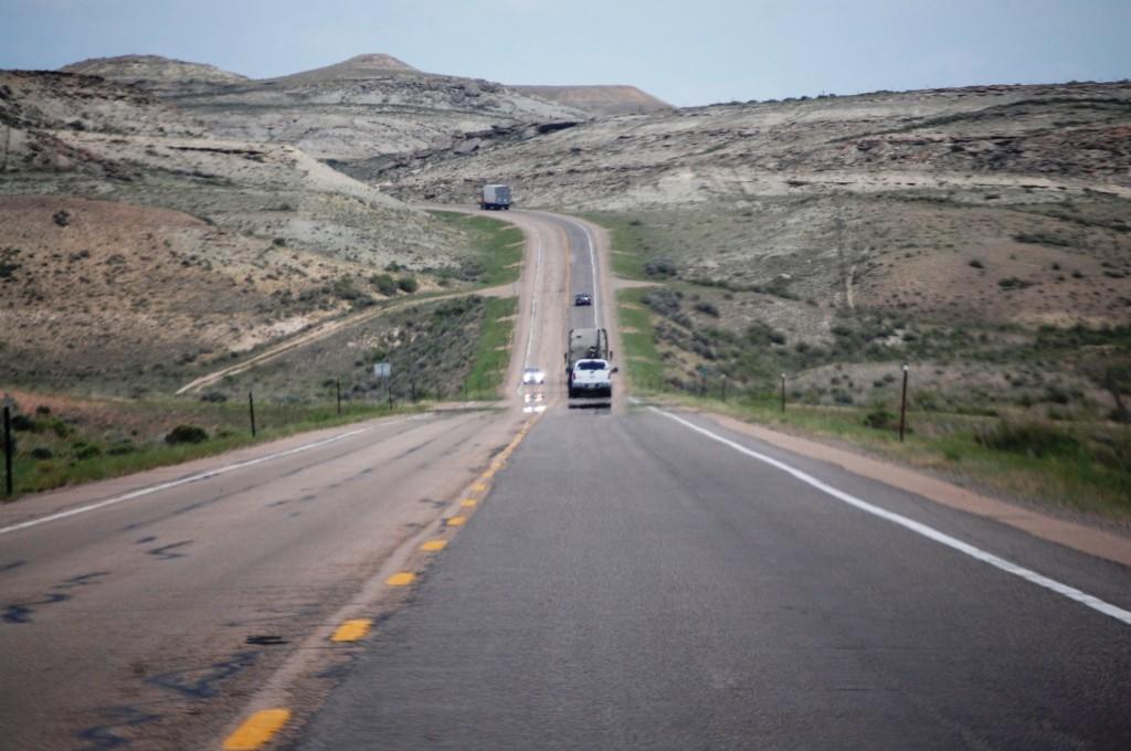 US 30 east of Diamondville