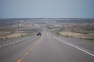 US 30 East near Granger, Wyoming