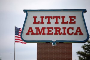 Famous Little America sign
