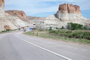 I-80 near Green River, Wyoming