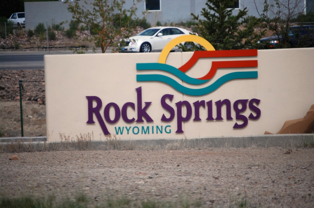 Welcome to Rock Springs, WY