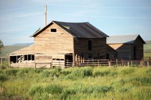 Old Cabin on US 40 west of Hayden, CO