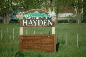 Welcome to Hayden, CO