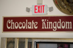 Chocolate Kingdom entrance at Daffin's