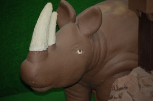 Chocolate Rhino in Chocolate Kingdom at Daffin's