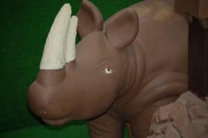 Chocolate Rhino in Chocolate Kingdom at Daffin's