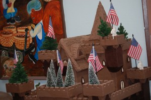 Chocolate Castle in Chocolate Kingdom at Daffin's