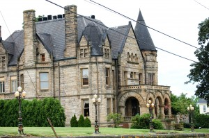Buhl Mansion in Sharon, Pennsylvania