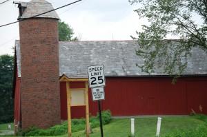 Rustic old barn in Harmony, Pennsylvania
