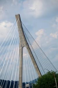 Veterans Memorial Bridge in Steubenville, OH