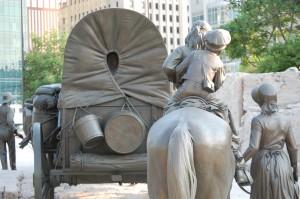 Pioneer brotherhood - Pioneer Memorial, Omaha, Nebraska