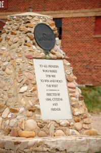 Pioneer Monument - Opal, WY