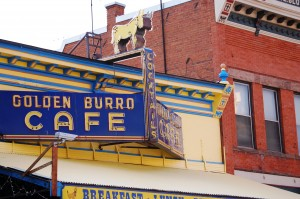 Famous Golden Burro Cafe in Leadville