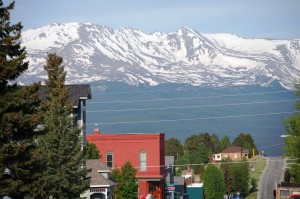 Mountains over Leadville, Colorado