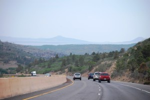 Historic Raton Pass on Colorado - New Mexico border