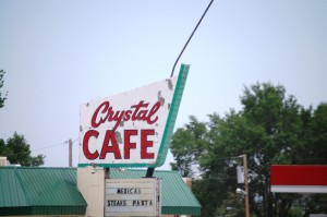 Crystal Cafe neon in Raton, NM