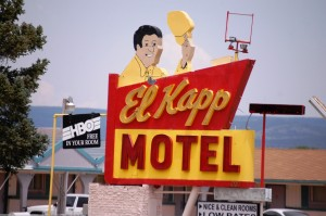 El Kapp Motel neon in Raton, New Mexico