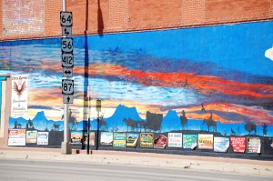Wall Mural art in Clayton, New Mexico