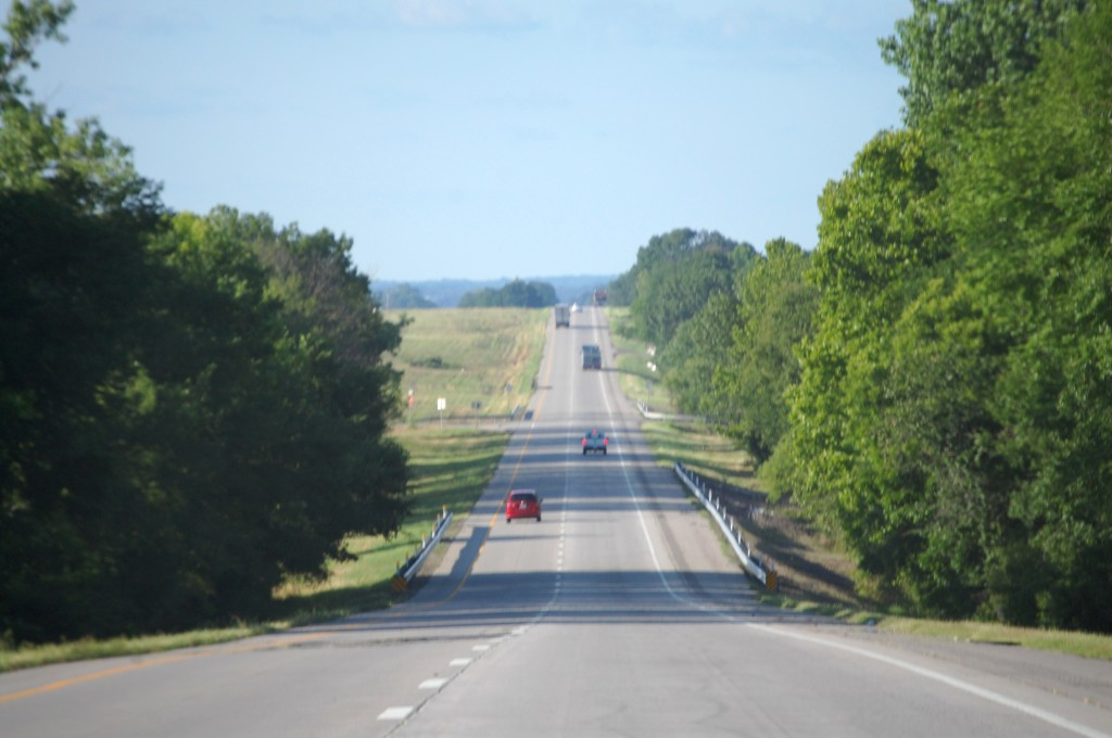 US Routes 69/75 north of Durant, Oklahoma