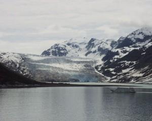 Purple Mountain Majesties - near Glacier Bay, Alaska