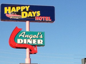 Happy Days Hotel and Angel's Diner - McAlester, OK