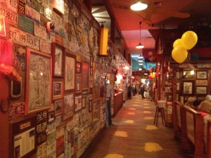 Walkway in Lambert's Cafe - Sikeston, Missouri
