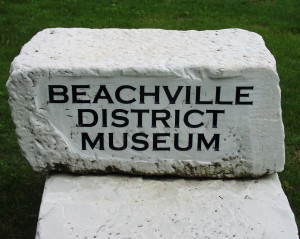 Beachville District Museum sign