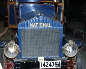 Old fire truck in Beachville Museum