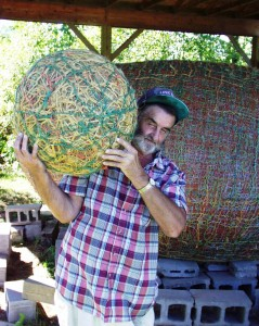James Frank Kotera - JFK - The Twine Ball Man of Lake Nebagamon, WI