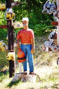 Chainsaw Gordy - near Medford, Wisconsin