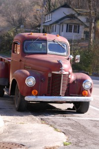 Old Pickup in Cumberland Gap, Kentucky