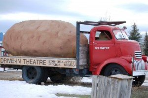 The Spud Drive-In - Teton Valley, Idaho