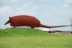Giant Armadillo - Texas Pipe Company - Houston, Texas