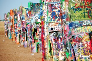 Cadillac Ranch - Amarillo, Texas