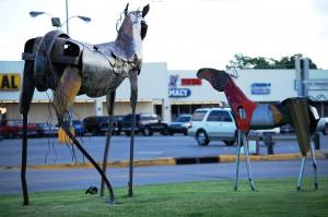 Scrap Metal Horses - Durant, Oklahoma