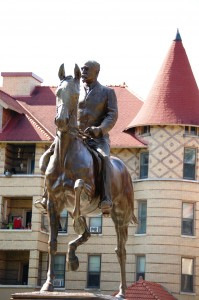 John B. Castleman Statue in Cherokee Triangle in Louisville