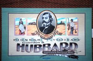 Historical mural in Danville, IL
