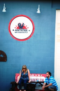 American Pickers production staff takes a break