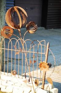 Scrap Metal Flower