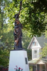 Statue of Liberty in Mt. Pleasant, IA