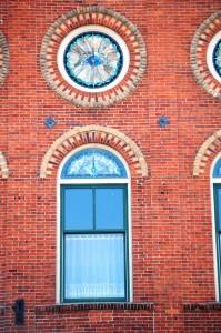 Beautiful Architecture on the Pella Opera House