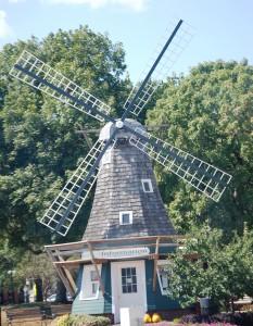 Windmill in Pella Town Square