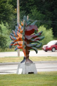 Painted Tree from Enchanted Arboretum