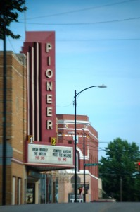 Old Pioneer Theatre in Nebraska City