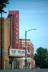 Old Pioneer Theatre in Nebraska City