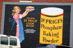 Dr. Prices Baking Powder Wall Advertisement - Nebraska City, NE